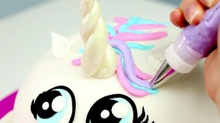 Learn How-To DIY your very own Rainbow Unicorn CAKE! More Adorable ...