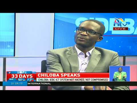 IEBC CEO Ezra Chiloba on Nasa's call to have him removed