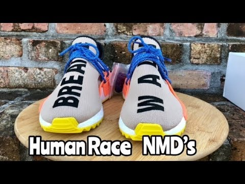 "reputable site 1eabb 66492 adidas Pharrell Human Race NMD ""Tan"""