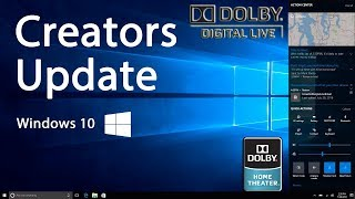PC (Install Realtek Mod Dolby Digital Live - DTS Interactive) [Windows 10 Creators]