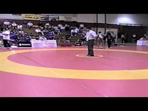 2005 Canada Cup: 55 kg Carlos Restrepo (USA) vs. Taiki Sagai (JPN)