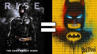 24 Reasons The Dark Knight Rises & The Lego Batman Movie Are The Same Movie