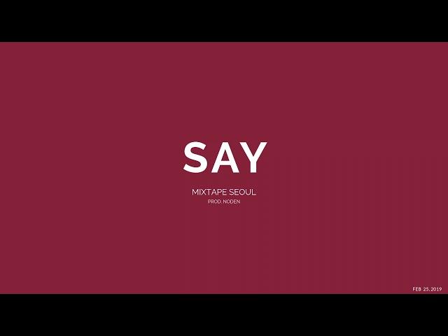 Say - Daniel Caesar X Mac Ayres Type Beat | Prod. Noden