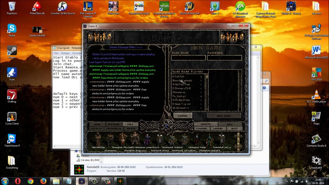 Diablo 2 Maphack + Autoteleport 2017 Working 100% (Working) - YouTube