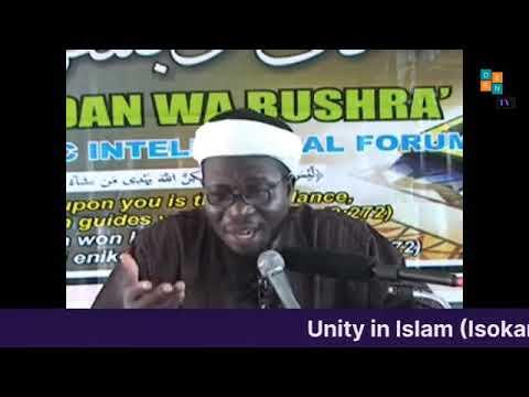 Download The True Understanding of Unity in Islam  Dr Sharafudeen Gbadebo Raji