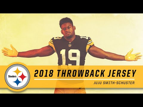 buy popular 84648 a69e0 JuJu Smith-Schuster Shows Off 2018 Throwback Uniform ...