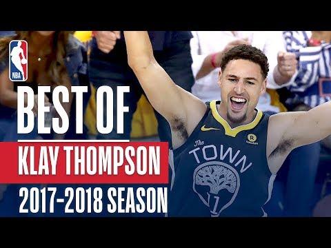 Best of Klay Thompson | 2017-2018 NBA Season