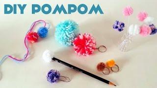 Como fazer Pompom + Ideias de Enfeites DIY