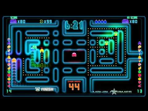 PacMan CEDX - Spiral - Ghost Combo