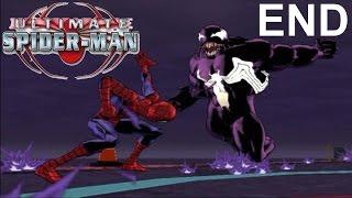 Ultimate Spider-Man PS2 Gameplay #8 [Spidey vs Venom Final Battle]