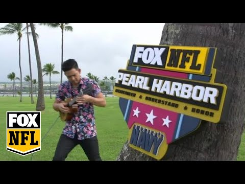 Wait until you hear the NFL on FOX theme song played on Ukulele