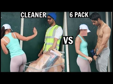 CLEANER vs 6 PACK Picking Up Girls (SOCIAL EXPERIMENT) PT.2