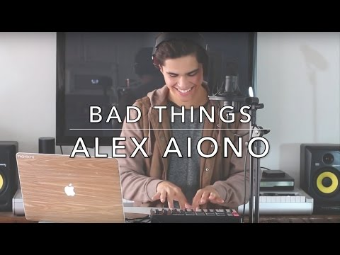 Bad Things - MGK, Camila Cabello (Alex Aiono Cover) (Lyrics)