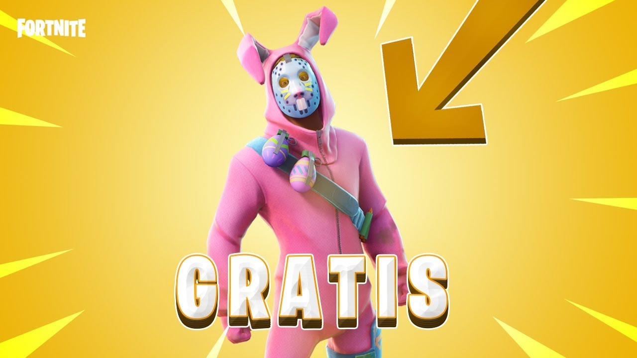 Easter Bunny Fortnite Skin Pictures To Pin On Pinterest