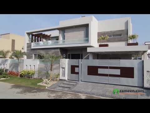 BRAND NEW BEAUTIFUL LUXURY BUNGALOW IS AVAILABLE FOR SALE IN MODEL TOWN LAHORE
