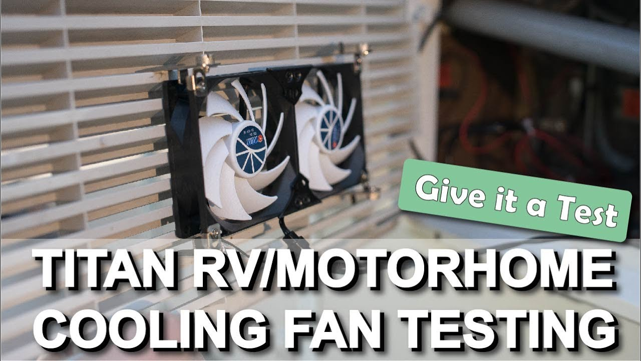 Rv Cooling Fan