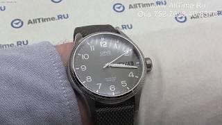Обзор. Швейцарские наручные часы Oris 752-7698-40-63FC
