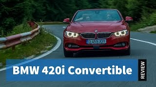 BMW 4 Series Cabrio (F33). Still fun to drive even without the roof?  / Review #05