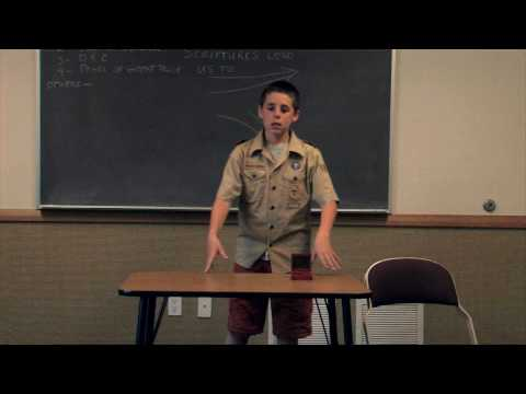Communication Merit Badge: Troop 1205 Austin Griffin