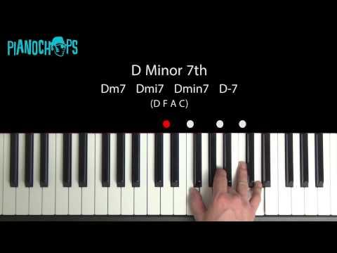 D minor 7 on Piano - Dm7 - YouTube