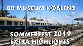 DB Museum Koblenz - Sommerfest 2019 - Extra Highlights (Huawei P20)