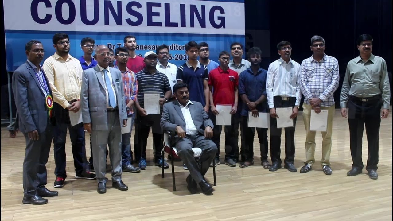 B.Tech Counselling 2018 at SRM Institute of Science and Technology Chennai