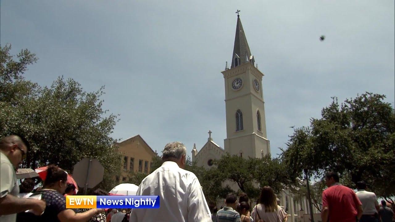 A Catholic church in Laredo, Texas is helping migrants enter the U S  every  day - ENN 2018-06-05