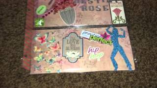 Pocket letter ( made for my beautiful daughter 4 her Christmas stocking)