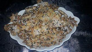 Minik şef mutfakta Tuzlu kurabiye tarifi   salty c