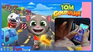 Talking Tom Gold Run-My Doll Play The Game(토킹톰 골드런 게임)