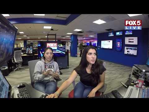 FOX 5 LIVE (11/10): LIVE POLICE CHASE-  Oklahoma City police pursue a pickup: discretion advised