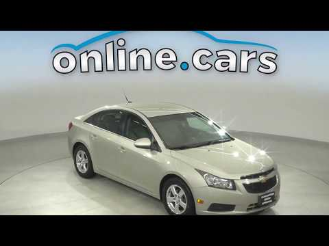 A13538YT Used 2013 Chevrolet Cruze 1LT FWD 4D Sedan Gold Test Drive, Review, For Sale