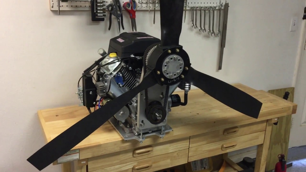 Harbor freight predator 22 hp engine and reduction drive for How to build an airboat motor
