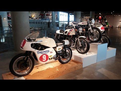 I visit the Barber Motorsports Museum.