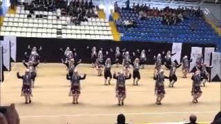 ANTALYA Bahçeşehir Koleji Halk oyunları ekibi 2016 yıldızlar düzenlemeli il 1. si