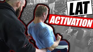 Lat Activation | Phase 1 Of Any Back Workout