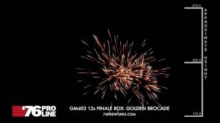 GM403 12 shot Finale Box: Golden Brocade