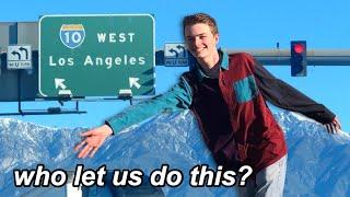 teens in LA *unsupervised*