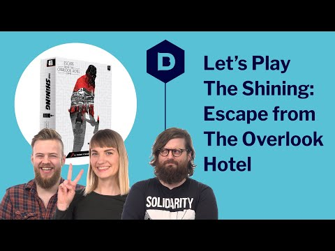 Let's Play The Shining: Escape from the Overlook Hotel - board game playthrough (Sponsored video)