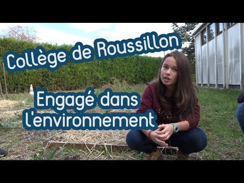 Les actions en faveur de l'environnement [Collège de Roussillon]
