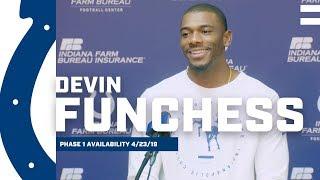 Devin Funchess Talks Locker Room Vibes