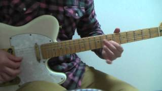 High (live version) - Guitar Solo Cover / Richie Kotzen [All backing tracks & mixed by yakinikuaji]