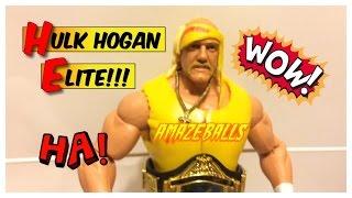 WWE ACTION INSIDER: Hulk Hogan Defining Moments Mattel ELITE Flashback Wrestling Figure Review