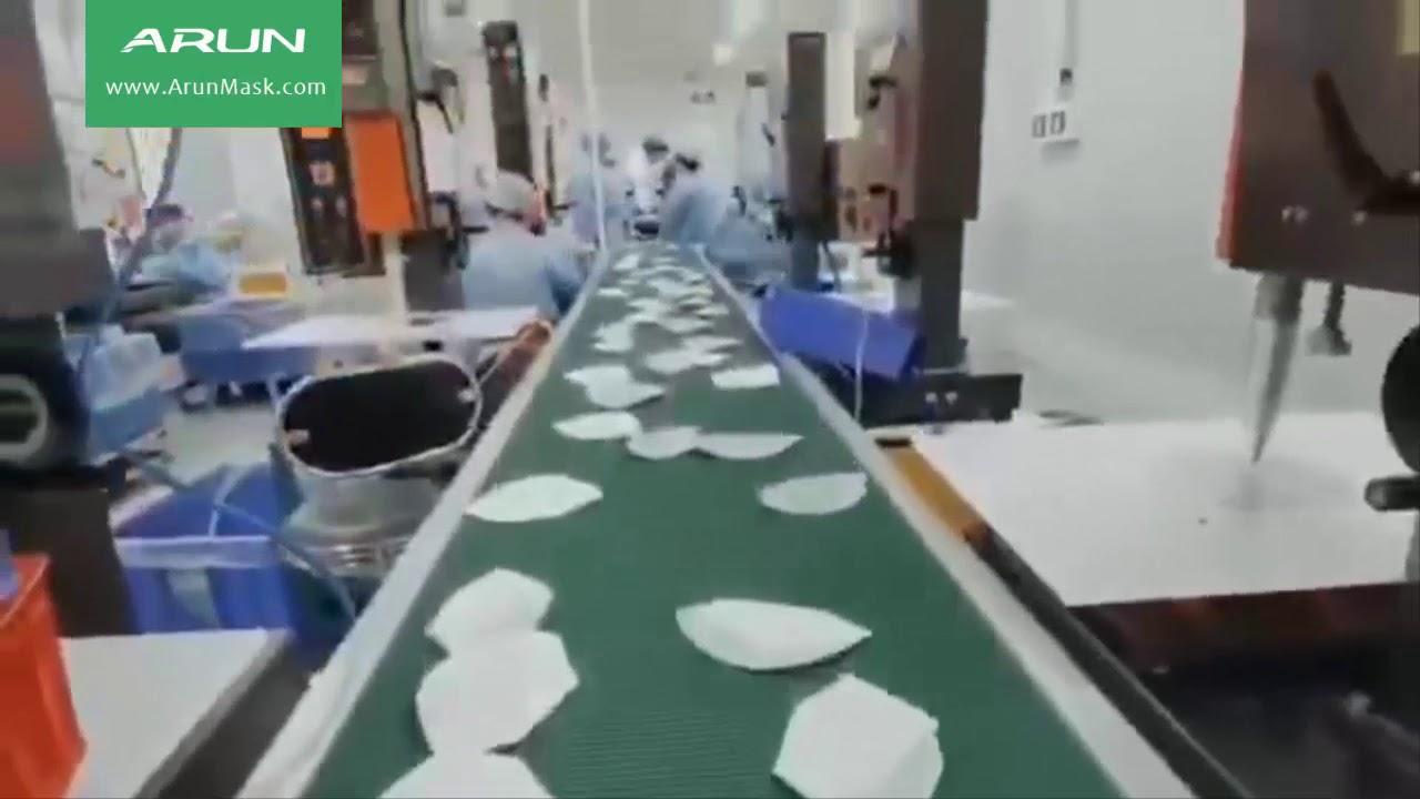 How KN95 Masks are Made - Take a Peek inside a KN95 Mask Factory