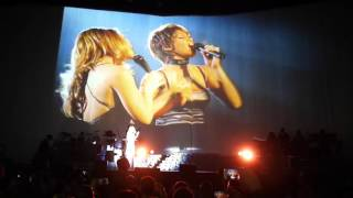 Mariah Carey - When You Believe (Whitney Houston) @ London O2 Arena 23/03/2016