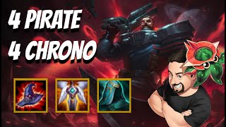 4 Space Pirate & 4 Chrono High Roll   TFT Galaxies   Teamfight Tactics