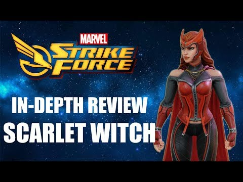 Marvel Strike Force - Scarlet Witch In-Depth Review