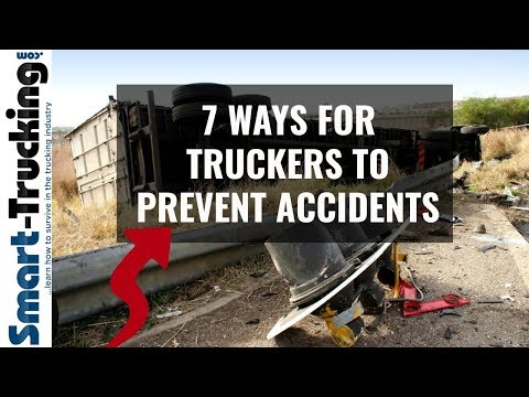 Sure Fire Ways For Truckers to Avoid STUPID Accidents