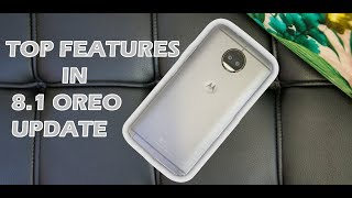 MOTO G5S PLUS OREO UPDATE TOP FEATURES!!!!