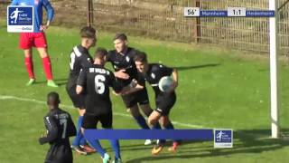 A-Junioren - SV Waldhof Mannheim vs. 1. FC Heidenheim 1846 1:1 - Gaetano Giordano